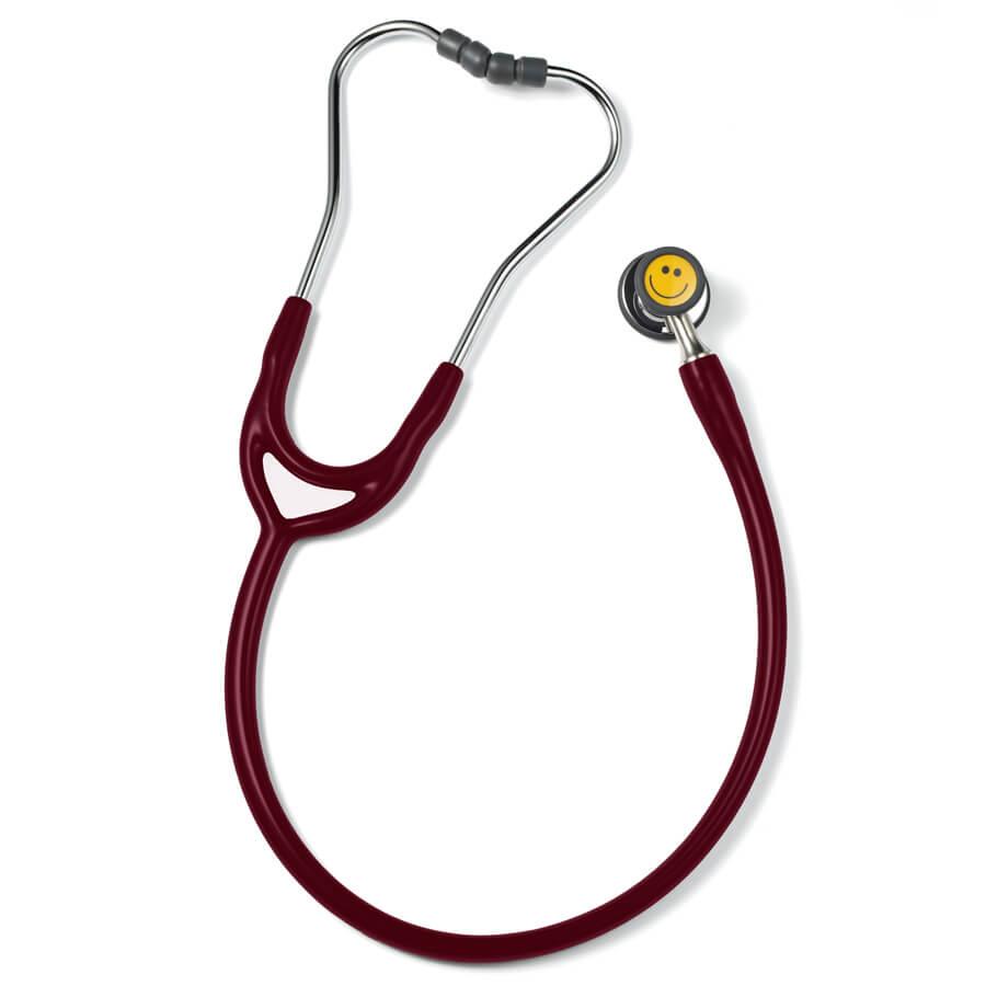 ERKA Finesse2 pediatrinen stetoskooppi lapsille ja vastasyntyneile viininpunainen