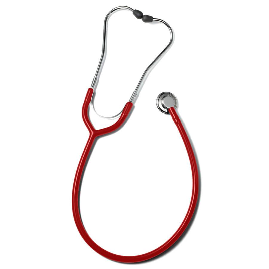 Erkaphon CHILD pediatrinen stetoskooppi lapsille littea punainen
