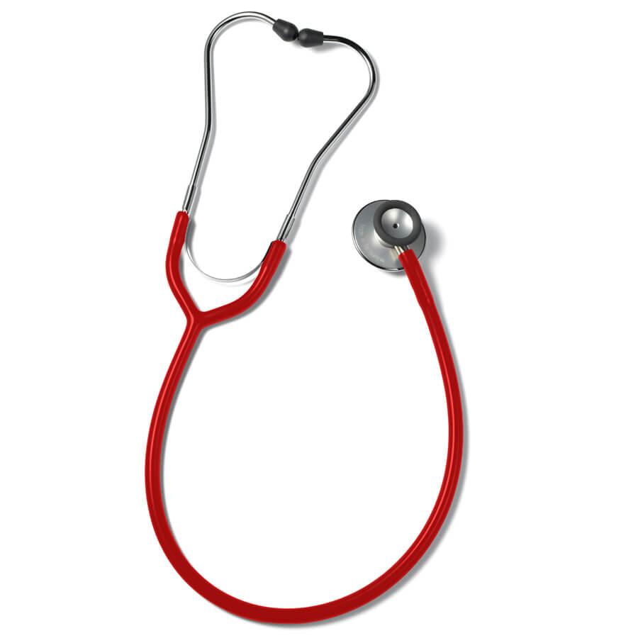 Erkaphon DUO ALU stetoskooppi aikuisille kaksipuolinen punainen