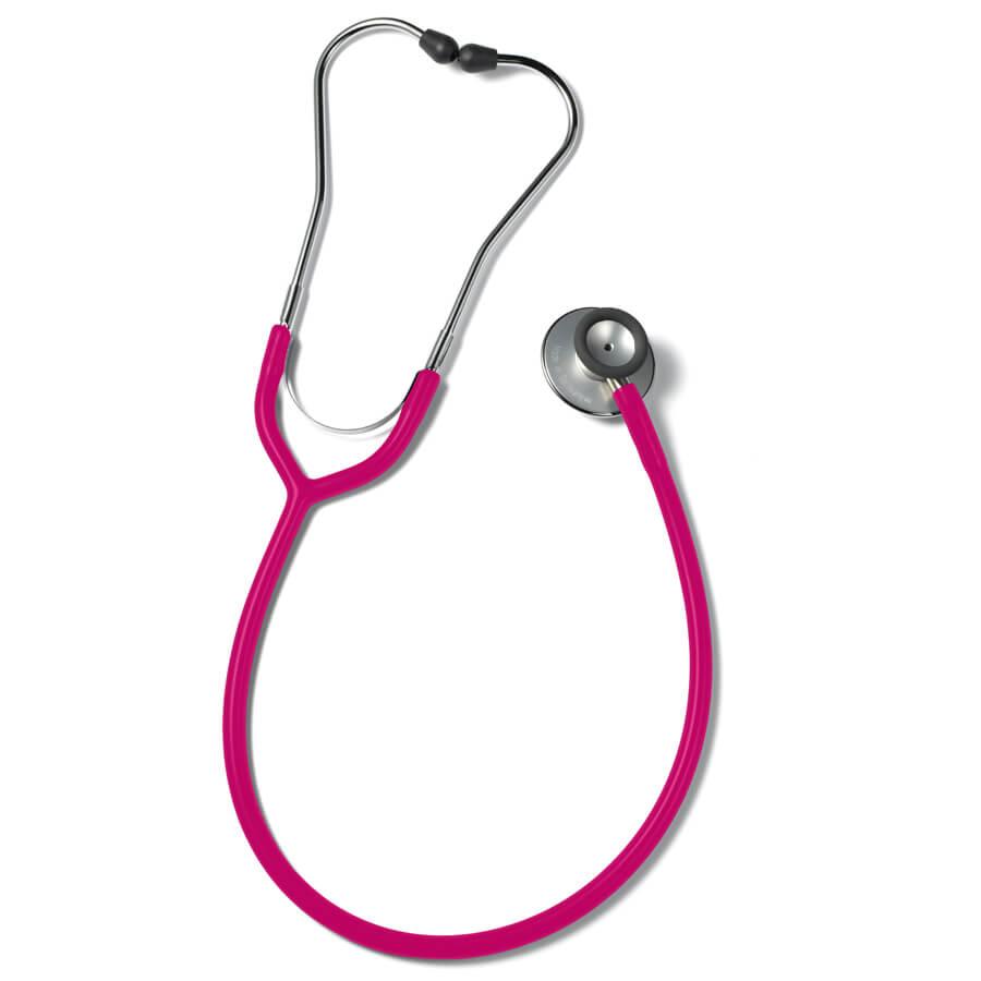 Erkaphon DUO ALU stetoskooppi aikuisille kaksipuolinen vaaleanpunainen