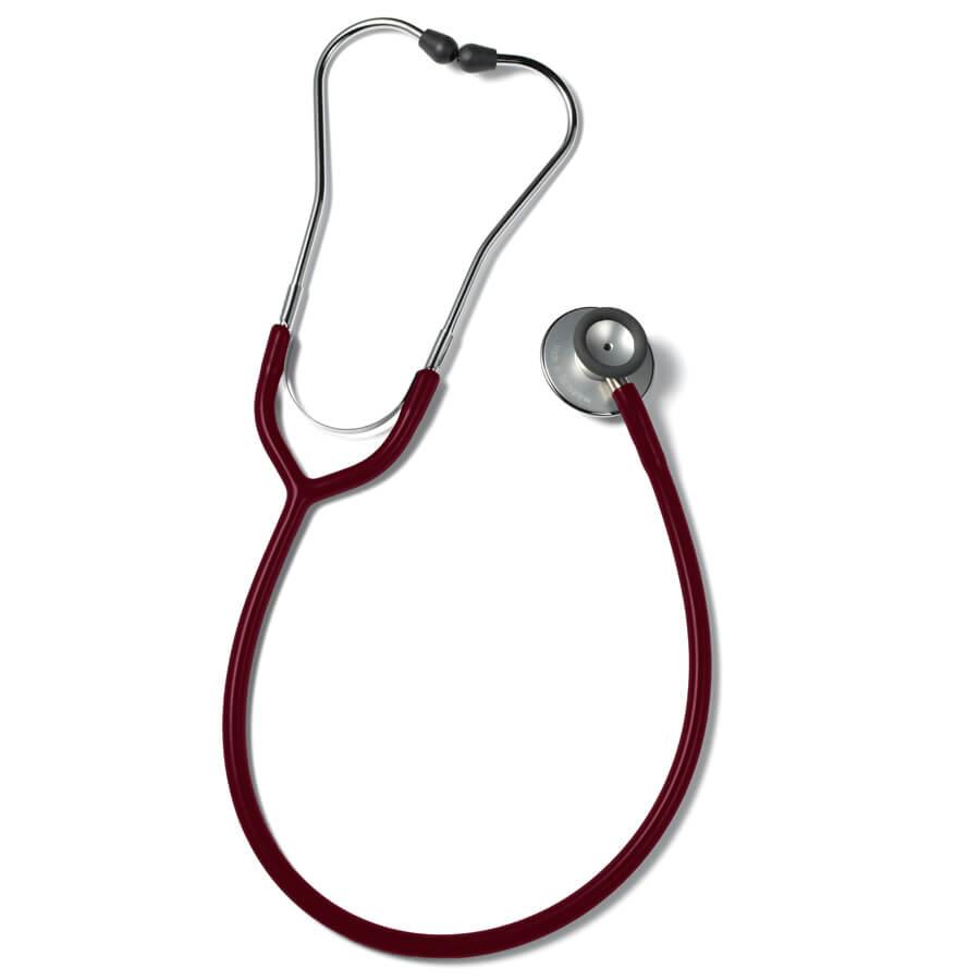 Erkaphon DUO ALU stetoskooppi aikuisille kaksipuolinen viininpunainen
