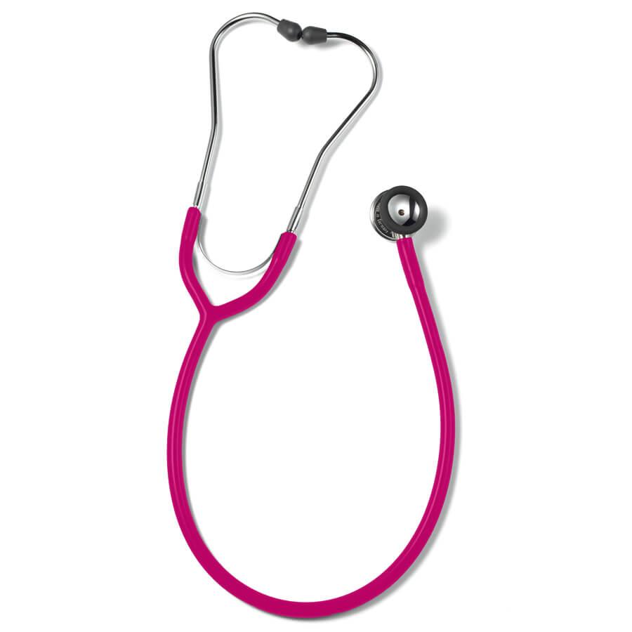 Erkaphon DUO CHILD pediatrinen stetoskooppi lapsille kaksipuolinen vaaleanpunainen