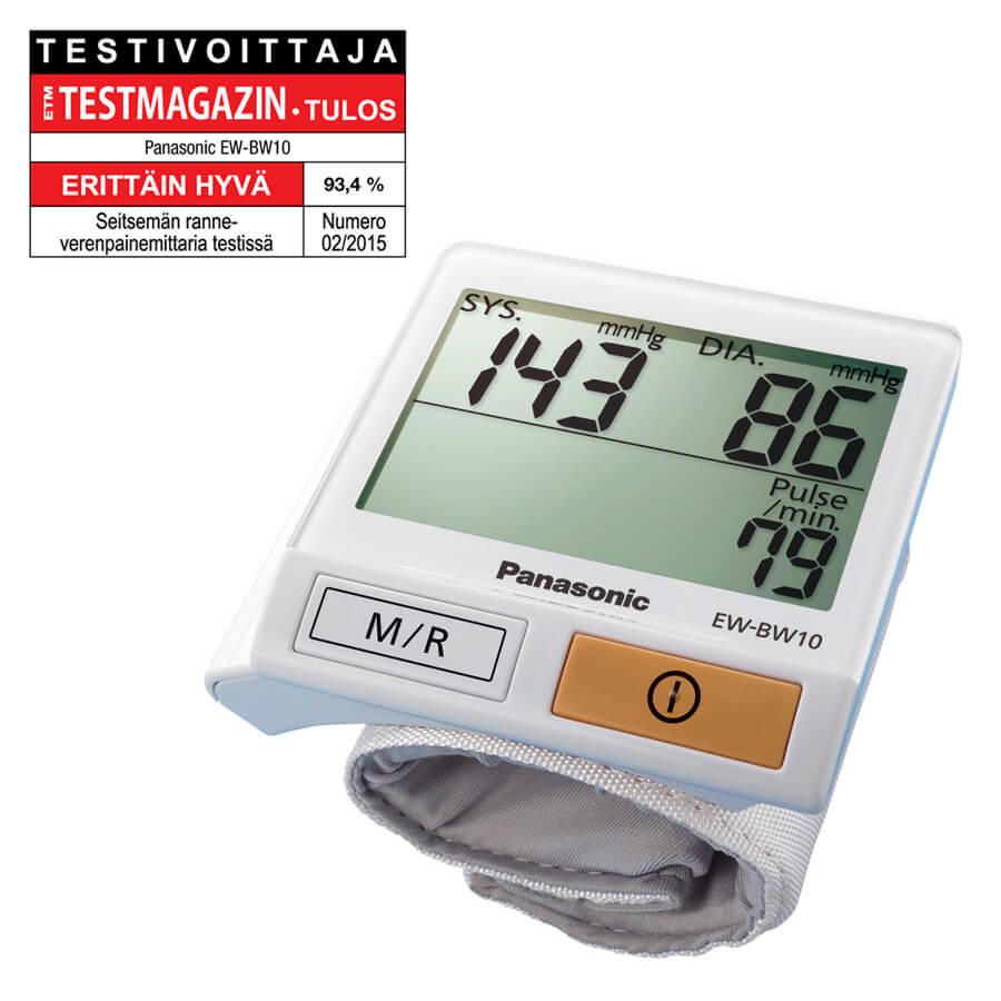 Panasonic verenpainemittari EWBW10_2